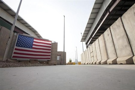 Rockets fired at U.S. embassy land inside Baghdad's Green Zone, damaging compound