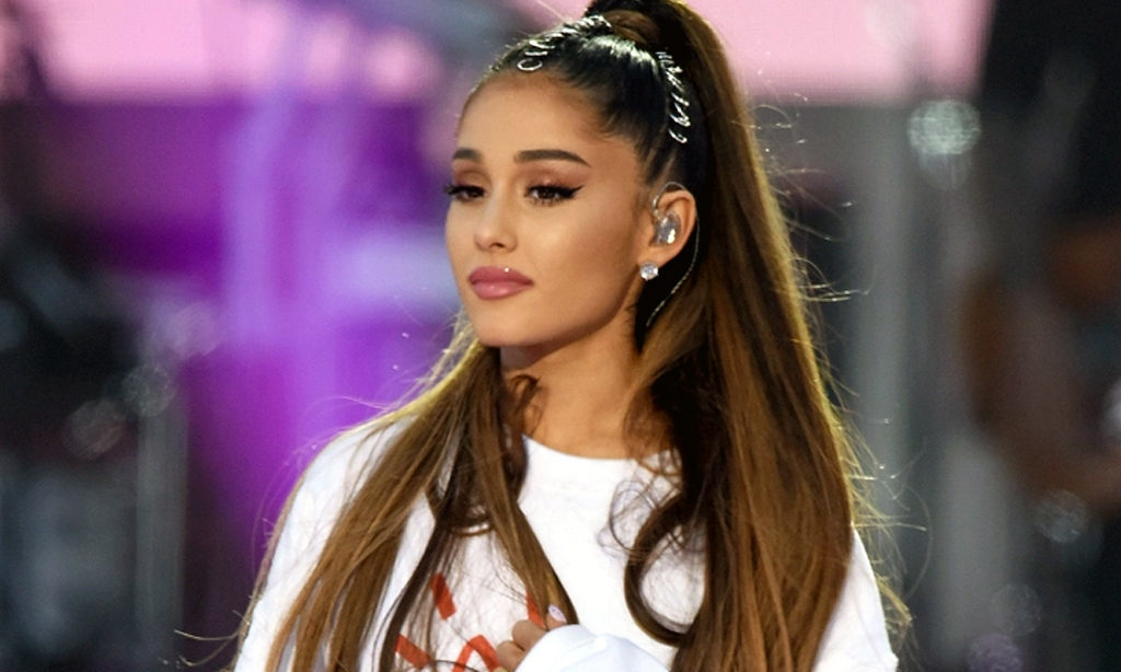 Ariana Grande announces engagement, shows ring on Instagram