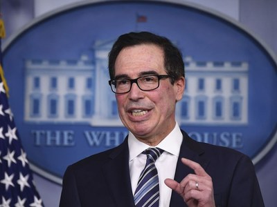 Americans to start receiving relief checks next week: Mnuchin