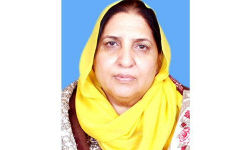 Senator Kulsoom Parveen dies of Covid-19