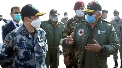 Shaheen XI exercise: Air chief flies hi-tech Chinese fighter aircraft