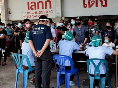 Thai seafood market coronavirus infections top 1,000