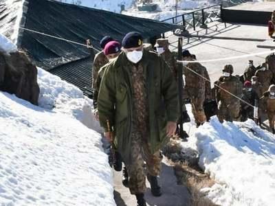 COAS visits forward troops deployed along LoC: ISPR