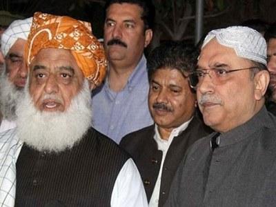 Asif Zardari invites Fazlur Rehman to attend Benazir Bhutto's death anniversary