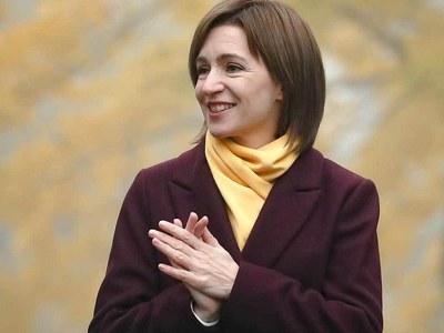 Pro-EU Maia Sandu sworn in as Moldova's president