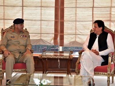 COAS, DG ISI meet PM Khan at PM house; Pakistan's internal, external security discussed