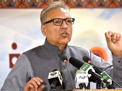 President reaffirms nation's pledge to follow Quaid's ideals to make Pakistan strong, prosperous