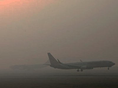 Flight operation suspended at Lahore airport due to dense fog