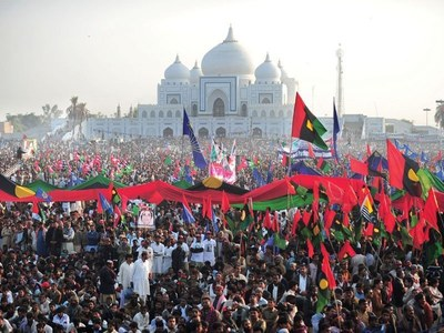 Opposition all set to hold power show at PPP-hosted public gathering in Garhi Khuda Bakhsh