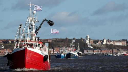 PM sold out fish in Brexit trade deal, fishermen say