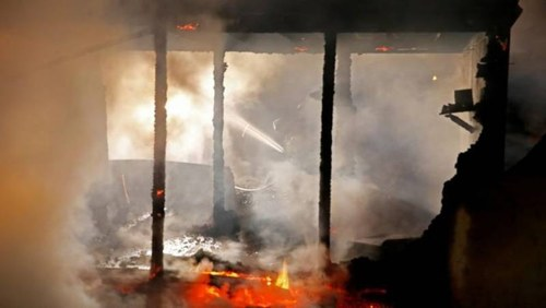 Three minors burnt to death in Karachi's Kashmir Colony