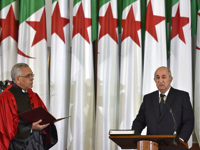 Algeria's Tebboune returns after COVID-19 treatment, state media says