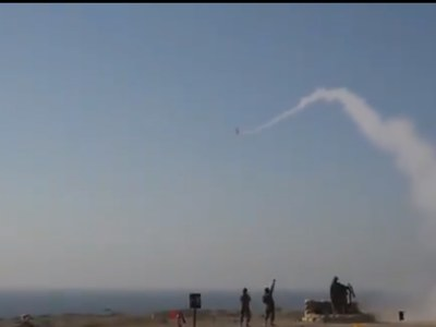 Demonstrating combat readiness: Pakistan Navy successfully tests-fires surface to air missiles