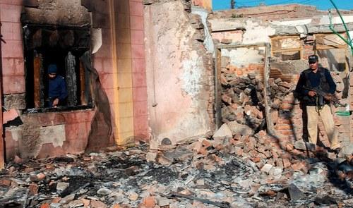 14 people arrested in Pakistan over destruction of Hindu temple in KP's Karak