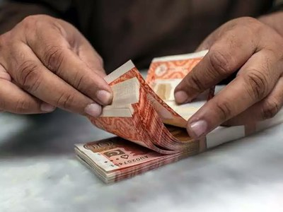 Rupee appreciates 45 paisas against US dollar