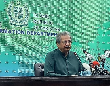 Exams scheduled for March to be held in May/June: Shafqat Mahmood