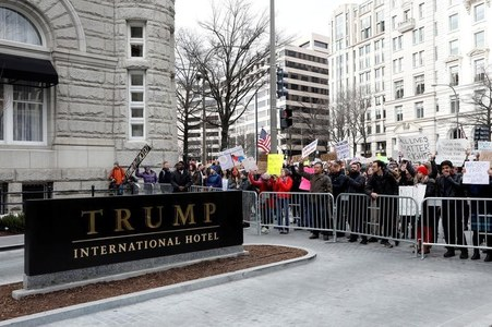 Trump International Hotel in DC hikes up room rates around Biden's inauguration