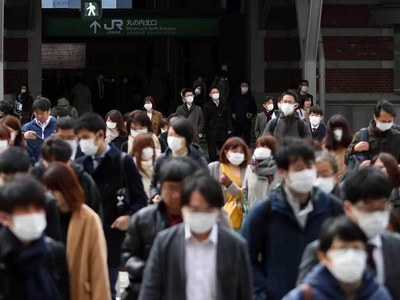 Tokyo calls for state of emergency over virus third wave
