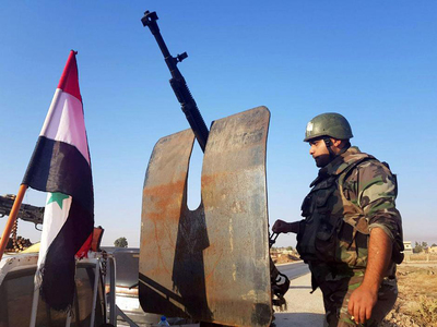 At least nine Syrian soldiers killed in militant attack in Badia