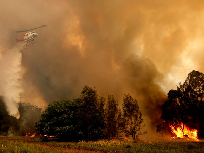 Australian 'lives and homes' at risk as fire nears Perth