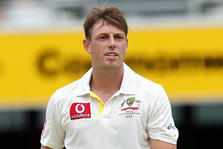 Australian quick Pattinson ruled out of third India Test