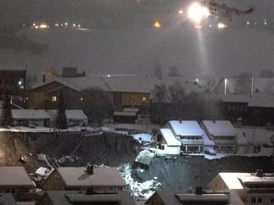 Still hope for survivors after Norway landslide: rescuers