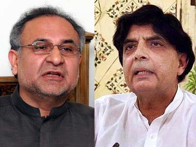 Durrani, Nisar discuss 'grand national dialogue, PDM's anti-govt movement'