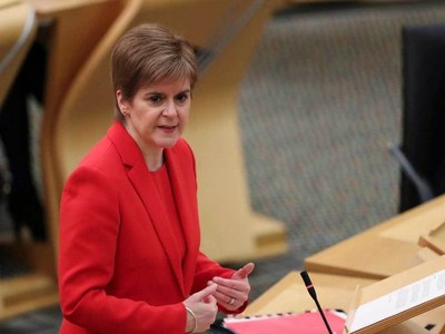 Scotland to impose lockdown for rest of January: first minister