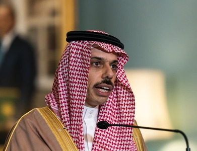 Saudi foreign minister holds talks with Kuwaiti counterpart: SPA