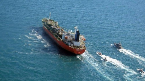 South Korea pushing to secure the release of tanker seized by Iran near the Strait of Hormuz
