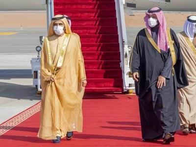 Gulf leaders, Kushner, converge on Saudi Arabia for crisis talks