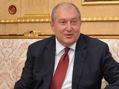 Armenian president stuck in London with coronavirus
