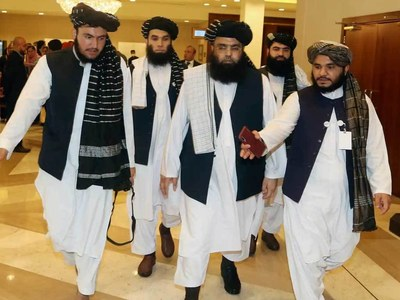 Kabul talks team in Doha as govt accuses Taliban of stalling