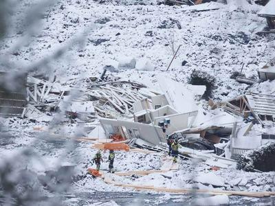 No hope of finding landslide survivors: Norway rescue workers