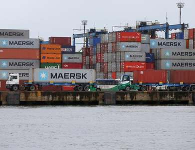 Maersk says European lockdowns have not dented demand for shipping