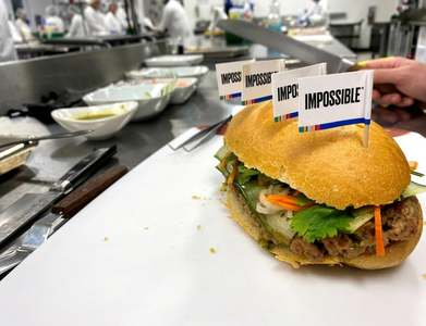 Impossible Foods cuts wholesale prices by 15pc for second time in one year