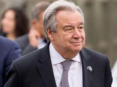 UN chief eyes virtual visit to Britain