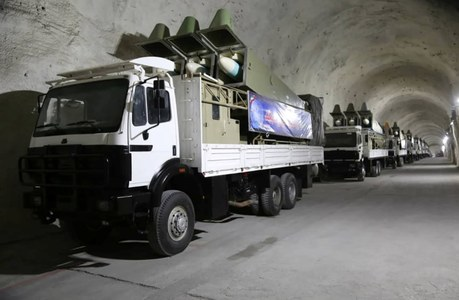 Iran's Revolutionary Guards reveal new missile base, state media reports