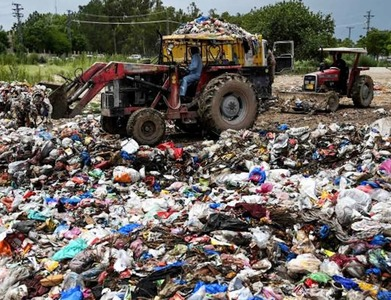 SITE body concerned at heaps of garbage and waste