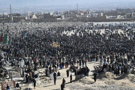 Mach massacre: Coal miners laid to rest in Quetta's Hazara Town