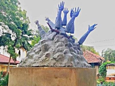 Sri Lanka to rebuild Tamil war memorial after protests