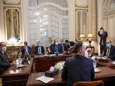 Egypt hosts talks to revive Israel-Palestinian dialogue