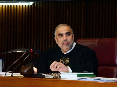 Pakistan supports broad-based peace process in Afghanistan: Speaker NA