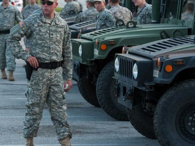 Up to 15,000 National Guard troops authorized to support Biden's inauguration