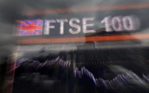 FTSE 100 falls on Covid-19 risks