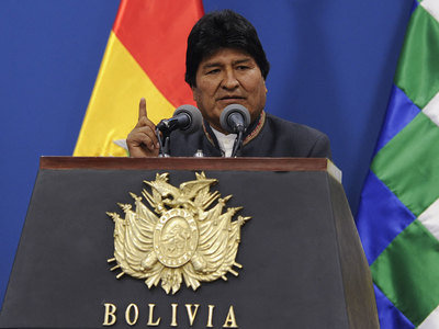 Former Bolivian president Evo Morales diagnosed with coronavirus