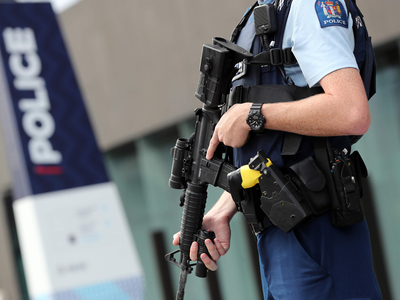 Man charged with smashing New Zealand parliament doors with axe