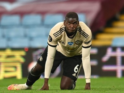 Pogba sends United clear at the top with win at Burnley