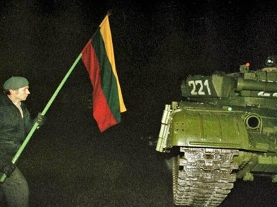 Lithuania remembers deadly 1991 Soviet assault