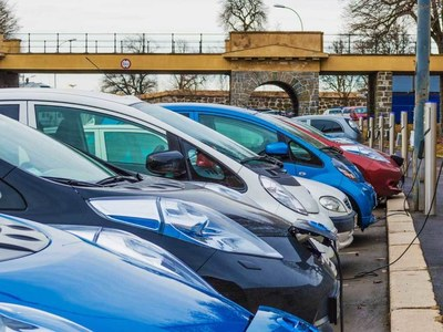 Sales of electric vehicles surge in China
